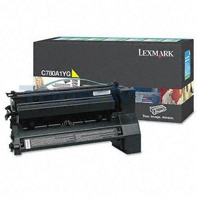 LEXMARK C780 X782 TONER CARTRIDGE YELLOW 6K RP